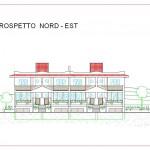 Prospetto nord-est A